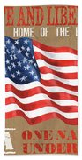 Let Freedom Ring Hand Towel