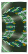 Let's Get Around It Abstract  Bath Towel