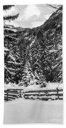 Leutasch Snow Trail 2 Bath Towel