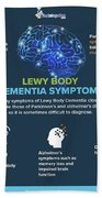 Lewy Body Dementia Symptoms Bath Towel