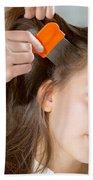 Lice In Head Bath Towel