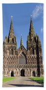 Lichfield Cathedral Hand Towel