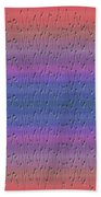Lie Detector Abstract Design Bath Towel