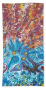 Life Ignition Mural V1 Bath Towel