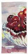 Life Is Just A Bowl Of Cherries Hand Towel