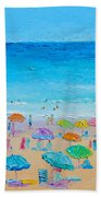 Life On The Beach Hand Towel