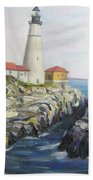 Light House Bath Towel