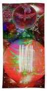 Light Of Man Multidimentional Sight Bath Towel by Joseph Mosley