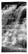 Light On The Jones Mill Run Dam Bath Towel