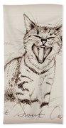 Light Sweet Cat Bath Towel