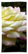 Light Yellow Rose 2 Bath Towel