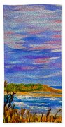 Lighthouse- Impressionism- The Coast Bath Towel