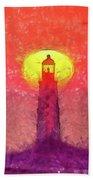 Lighthouse Bath Towel