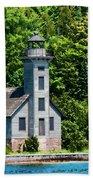Lighthouse Munising Bay Bath Towel