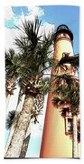 Lighthouse Palms Bath Towel