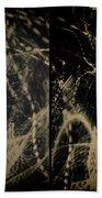 Lightpainting Quads Art Print Photograph 4 Bath Towel