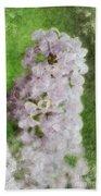 Lilac Dreams - Digital Watercolor Bath Towel