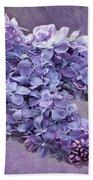 Lilac Spring Bath Towel