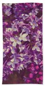 Lilacs Bath Sheet