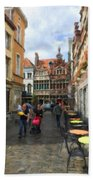 Lille Streets Series #2 Bath Towel