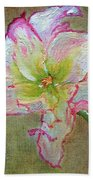 Lily From Paradise Bath Towel