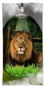 Lion Art Bath Towel