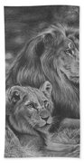 Lion Family Bath Towel