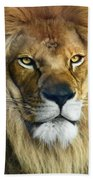 Lion Of Judah II Bath Towel