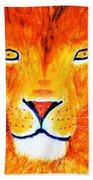 Lion Selfie Color Pop Bath Towel