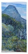 Lions Head Cape Town South Africa 2016 Hand Towel