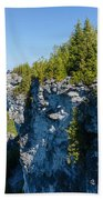 Lions Head Limestone Cliffs Bath Towel