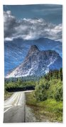 Lion's Head Mountain Bath Towel