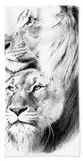 Lions Bath Towel
