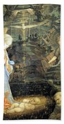 Lippi  Fra Filippo Painting Year1463 Bath Towel
