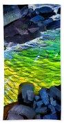 Liquid Abstract Eleven Bath Towel