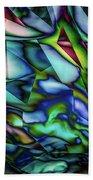 Liquid Geometric Abstract Bath Towel