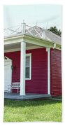 Little Red Schoolhouse, Council Grove Hand Towel