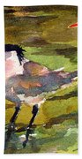 Little Terns Bath Towel