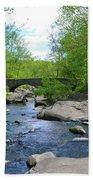 Little Unami Creek - Pennsylvania Bath Towel