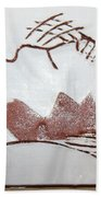 Live For Today - Tile Bath Towel