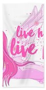 Live Happy Test Hand Towel