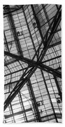Liverpool Street Station Glass Ceiling Abstract Bath Towel