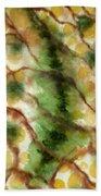 Lizard Skin Abstract Bath Towel