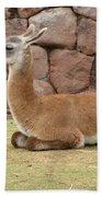 Llama Bath Towel