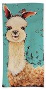 Llama Sid Bath Towel
