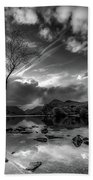 Llanberis, Wales Bath Towel