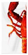 Lobster - The Left Side Bath Towel
