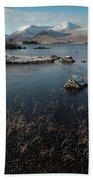 Lochan Nah-achlaise, Rannoch Moor, Scotland Hand Towel