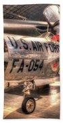 Lockheed F-94 Model C Starfire Bath Towel