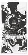 Locomotive Hand Towel